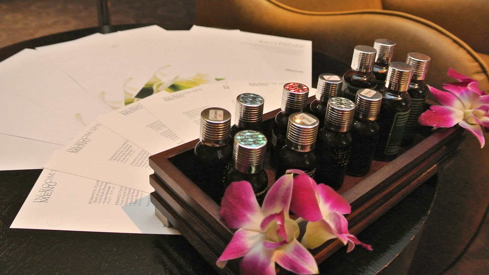 In Room Spa with Westin Signature Products