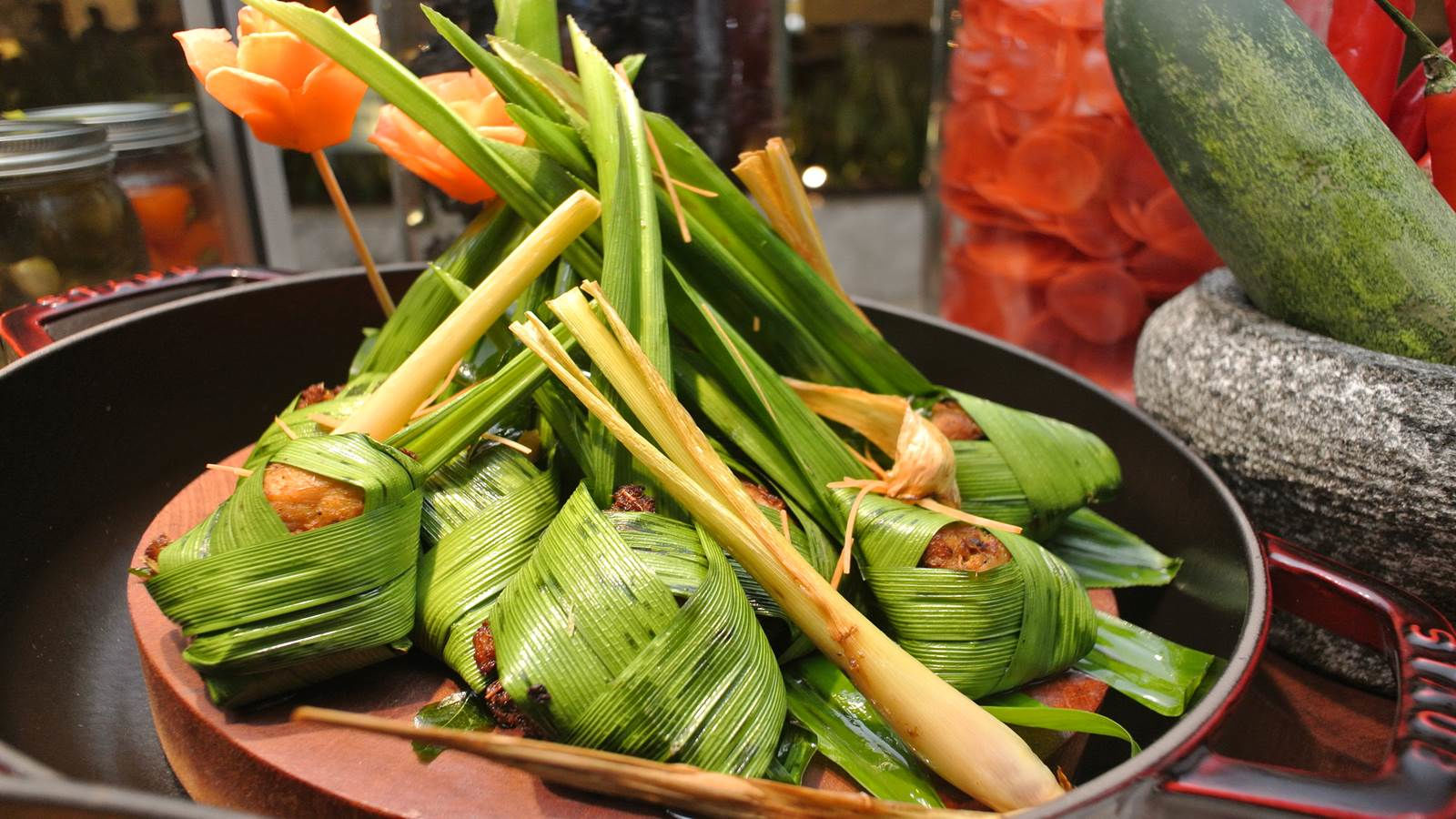 Pandan Chicken, Flavorsome Asian