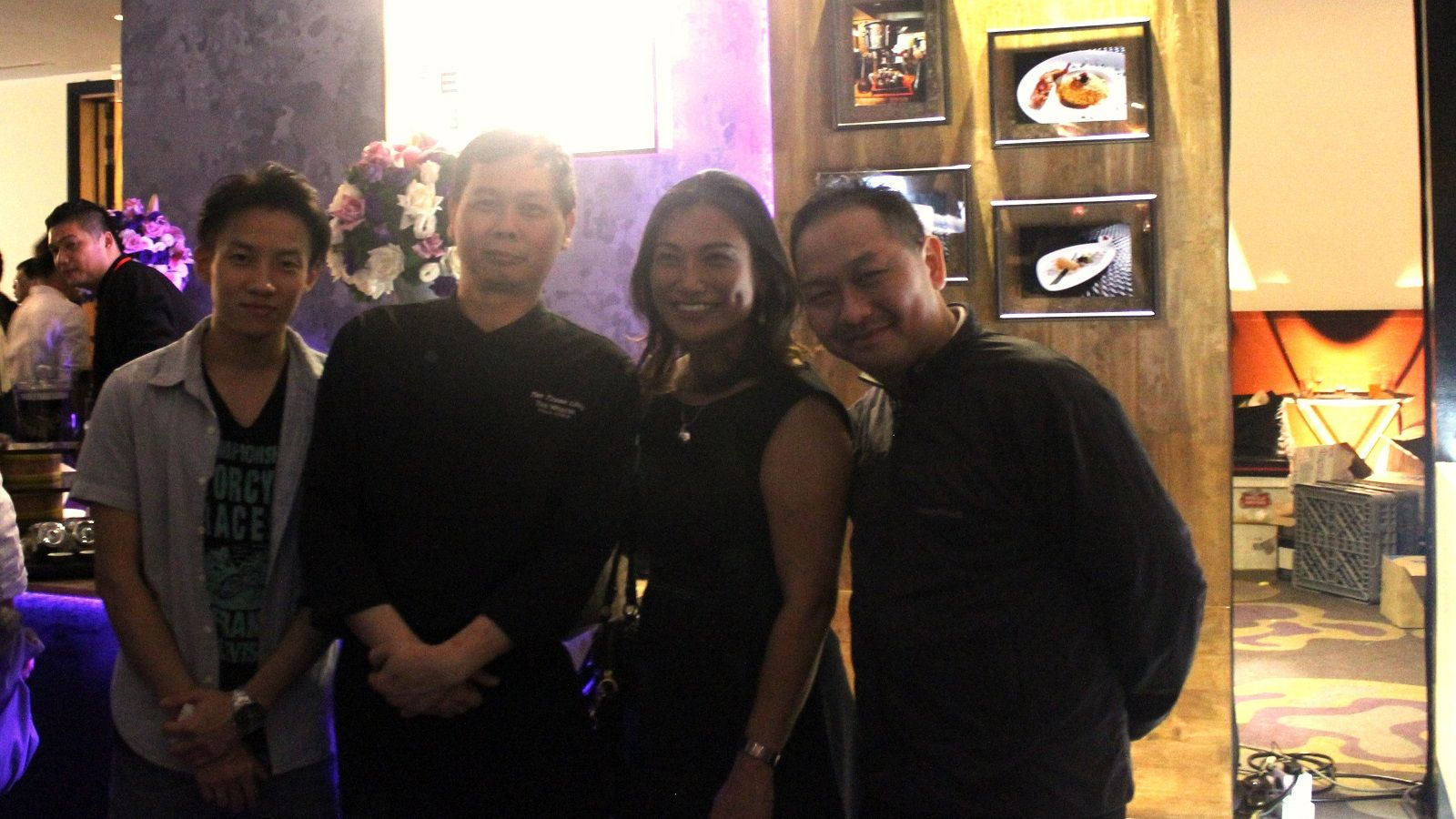 Chef Tan Tzaan Liing (Five Sen5es) and 3-Michelin-Starred Chef Albert Au