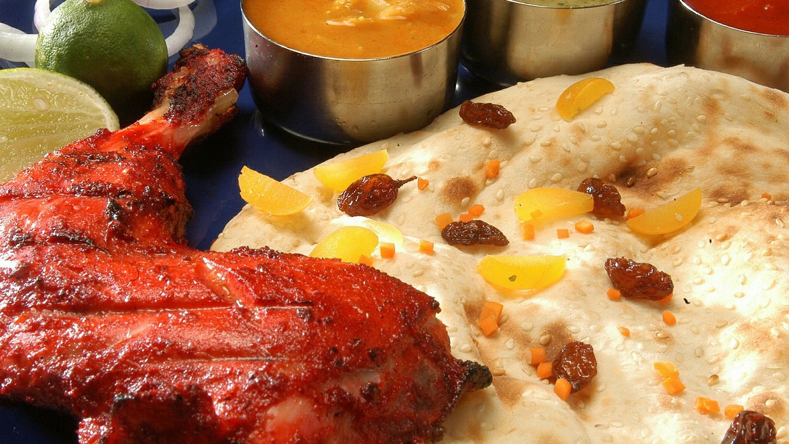 Tandoori Chicken with Naan