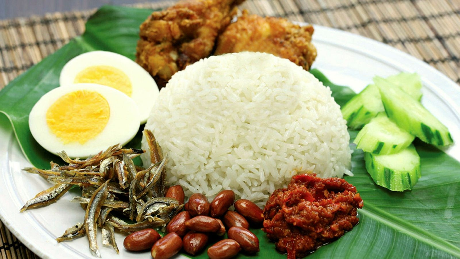Nasi Lemak with Sambal